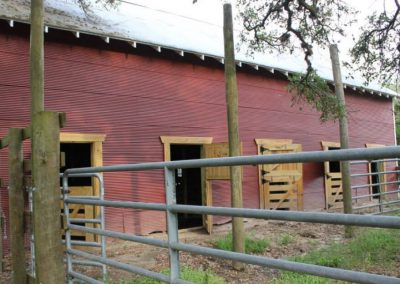 Little River Ranch Horse Stalls