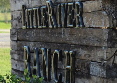 Little River Ranch Sign
